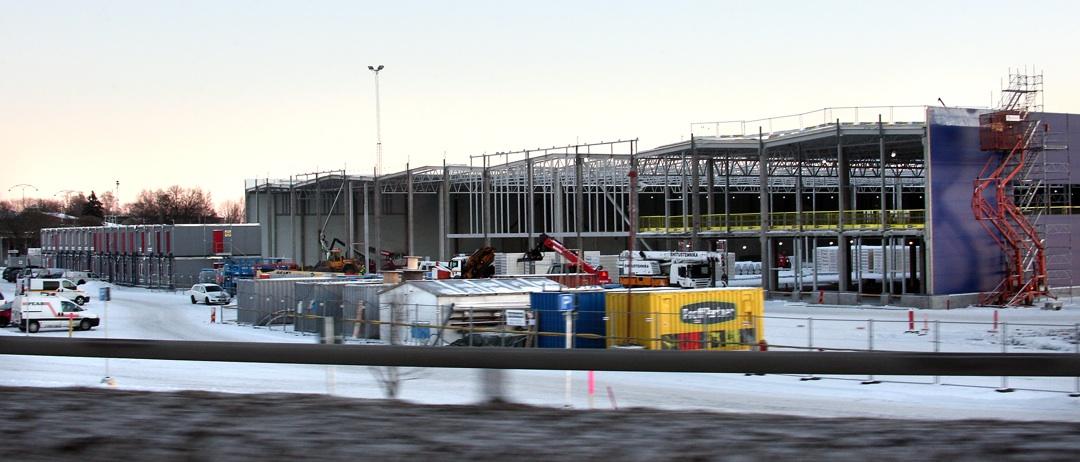 Ikea i Borlänge är en av de arbetsplatser där Byggnads varslar.