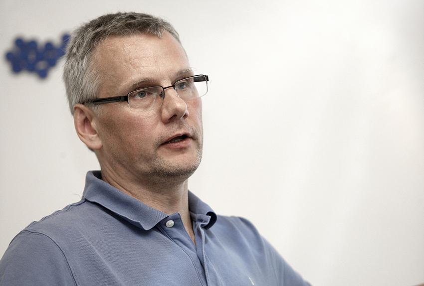 Hela kollektivavtalstanken är att arbetsvillkoren ska vara konkurrensneutrala, säger Per-Håkan Waern på Elektrikerförbundet. FOTO: TOMAS NYBERG