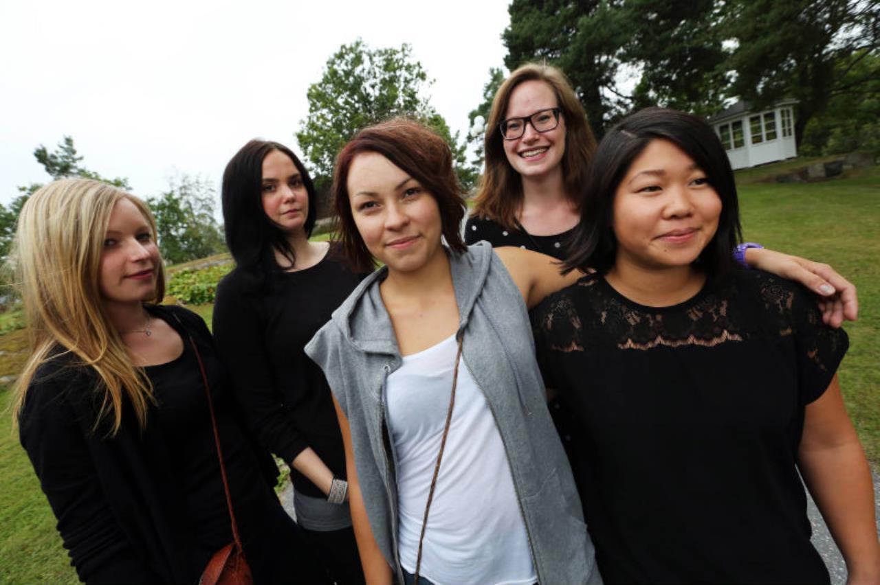 Trffa tjejer i kiruna - MK Marin