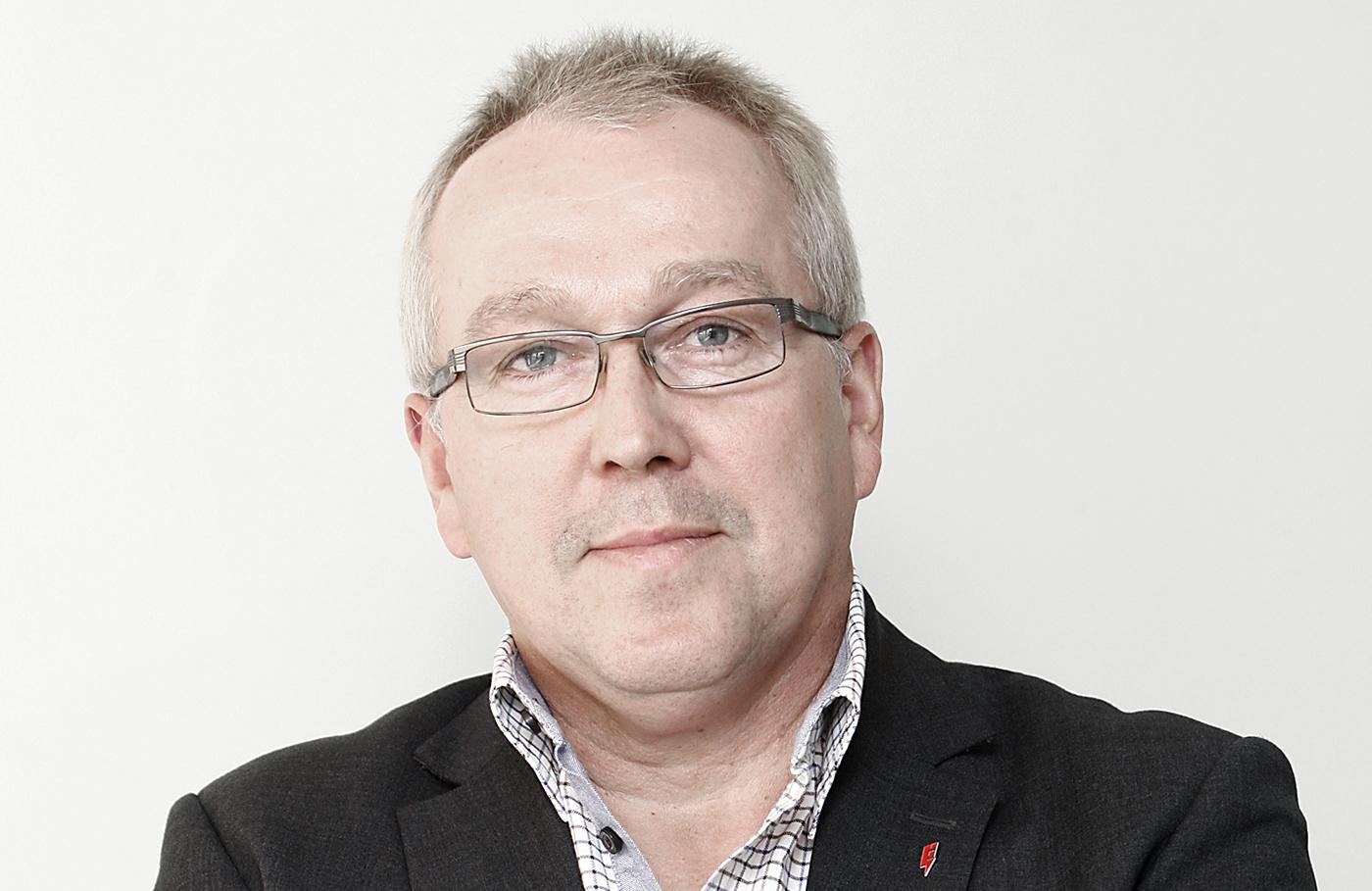 Ulf Carlsson, ansvarig för Kraftavtalet hos Elektrikerna.