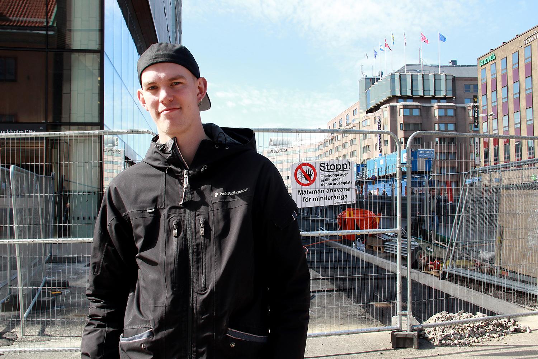 LO ung utsåg Claes Thim till årets fackliga hjälte. Foto: Eric Salomonsson