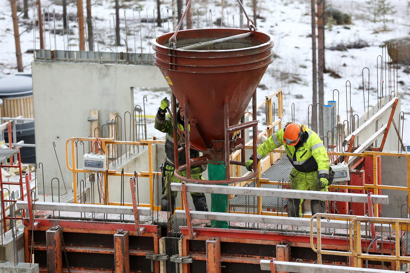 SAmtliga yrkesgrupper inom byggbranschen har däremot en lägre förekomst av psykiska diagnoser jämfört med män i andra yrken. Foto: Tomas Nyberg