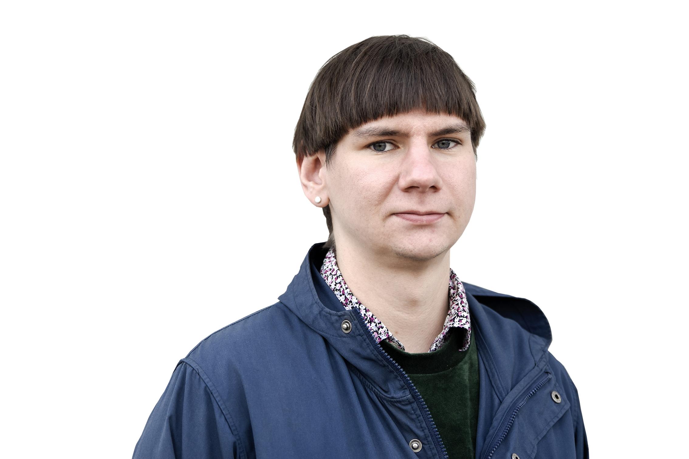 Felix Finnveden, personlig assistent och förtroendevald i Kommunal