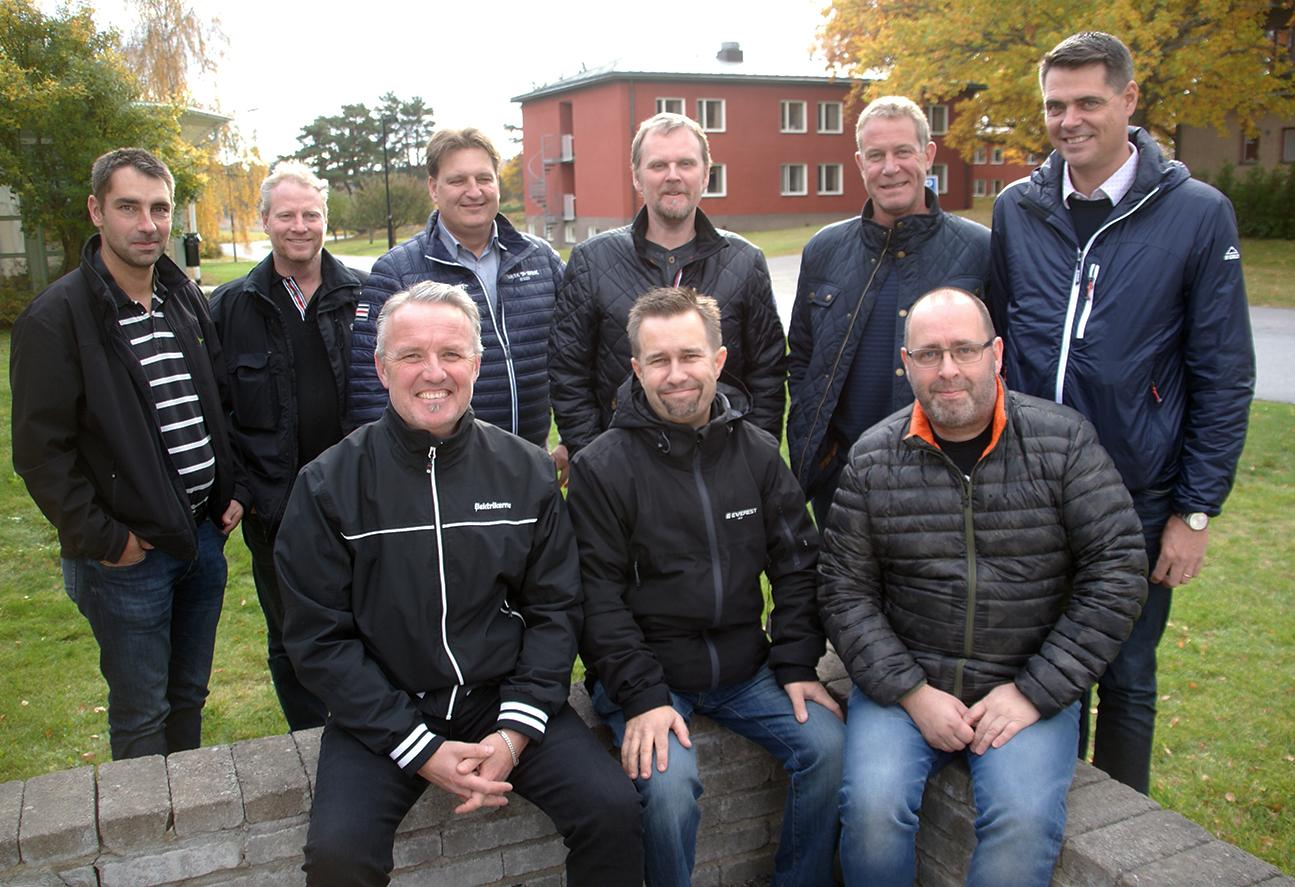 Elektrikernas stora förhandlingsdelegation. Foto: Per Eklund