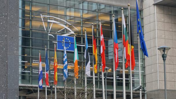 EU-parlamentet i Bryssel