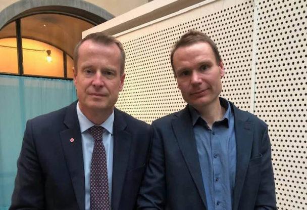 Petter Johansson och Anders Ygeman