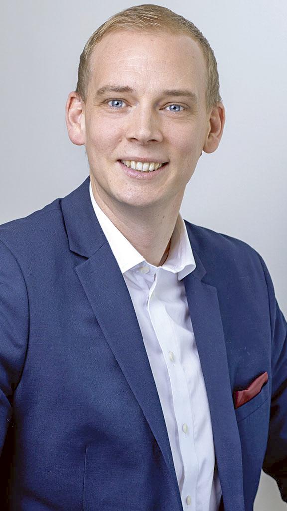 Fredrik Mejhert, entreprenadjurist vid Installatörsföretagen