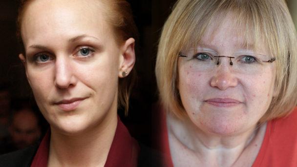 Louise Olsson och Tina Nordling