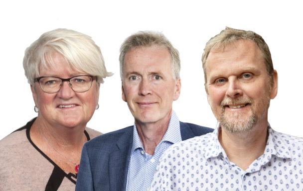 Carina Ohlsson, Mikael Johansson och Urban Pettersson.