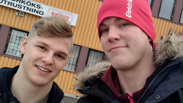 David Wikström och Claes Thim