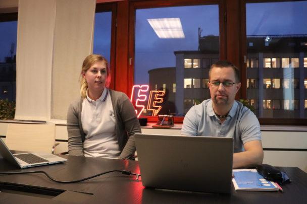 Karro Dahl och Tomas Jansson