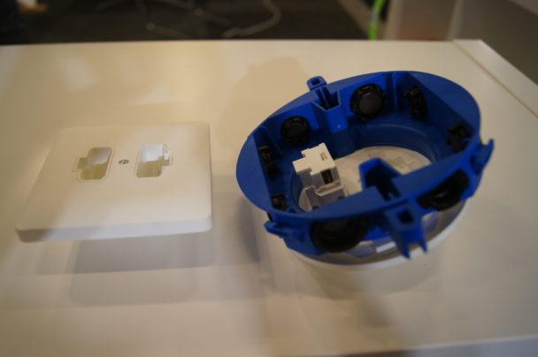 Detaljbild på komponenterna