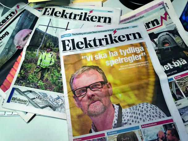 En samling nummer av Elektrikern.