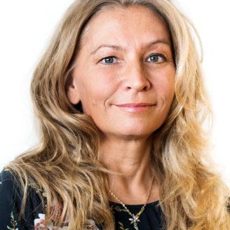 Porträttfoto på Yvonne Nygårds.