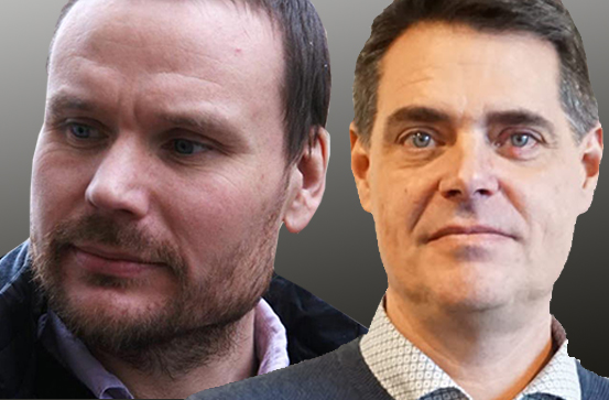 Petter Johansson och Mikael Pettersson