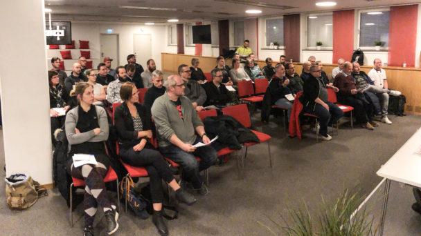 Bild från mötet
