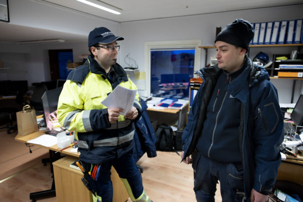 Ghassan Safadi och Fredrik Kling