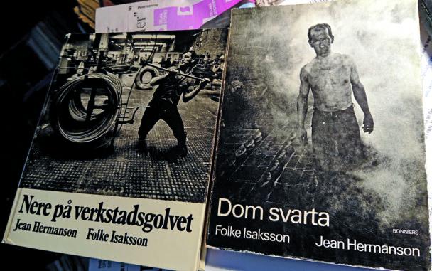 Bild på böckerna