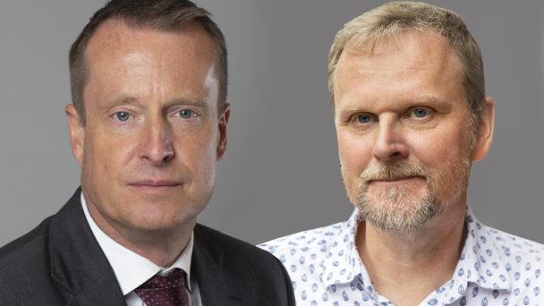 Anders Ygeman och Urban Pettersson.