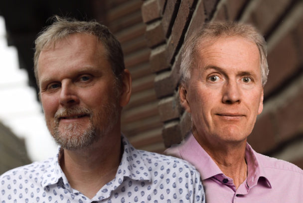 Urban Pettersson och Mikael Johansson