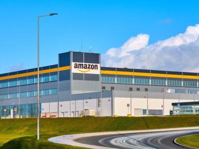 Amazons anläggning i Kolbaskowo, Polen