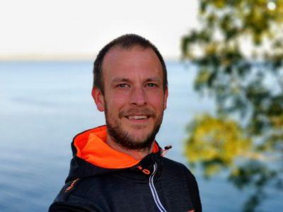 Peter Lidström utomhus