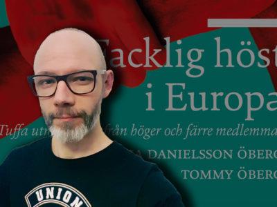 Rapportens omslag med ett foto av Andras Molnar monterat över.