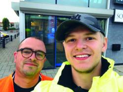 David Wikström och Karl Löfvenberg