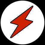 Elektrikerns blixt-logga