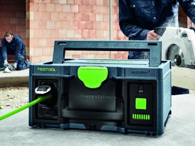 En svart låda som är en power-station