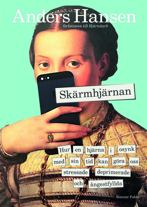 Omslaget till boken Skärmhjärnan